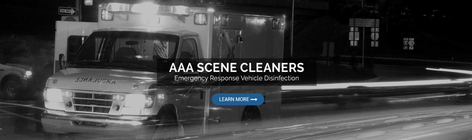 emergency response vehicle disinfection
