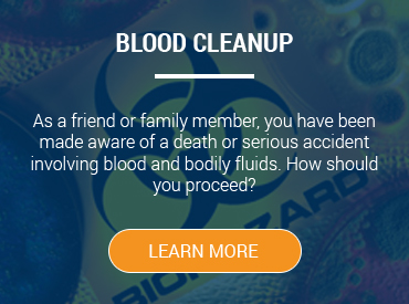 blood cleanup